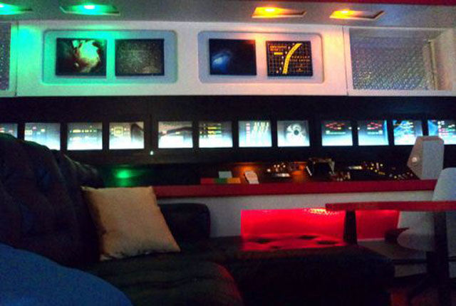 Star Trek Enterprise Becomes Her Home