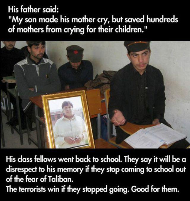 A Brave and Heroic Teenage Boy