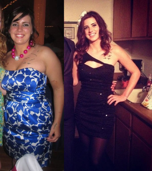 Stunning Girl Makeovers from Fat to Fabulous