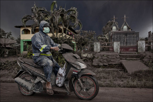 The Devastating Effects of a Volcano Eruption in North Sumatra