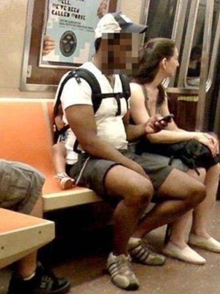 Hilariously Odd People Spotted on Public Transport