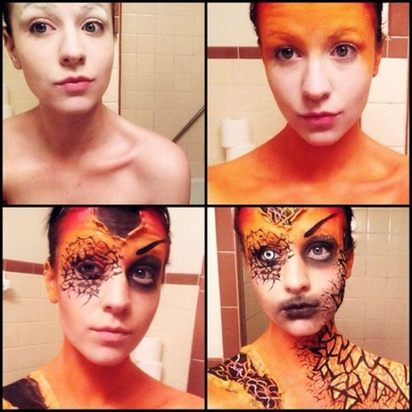 Phenomenal Makeup Transformations That Are Frighteningly Great