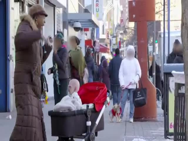 Remote-Controlled Devil Baby Terrifies NYC Passers-by