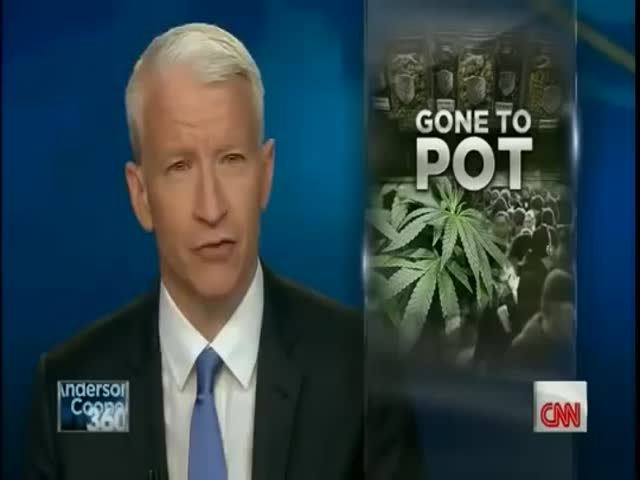 Reporter Gets Stoned While Covering Pot Legalization in Colorado