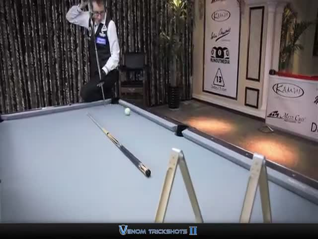 Unreal, Mind-Blowing Pool Trick Shots