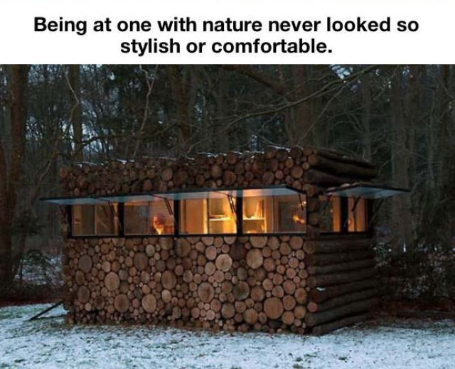 A Cleverly Designed Hidden Sanctuary in Nature