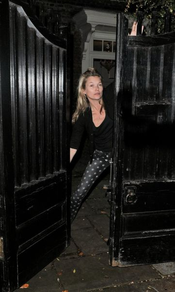 Supermodel and Actress Kate Moss Over 40 Years