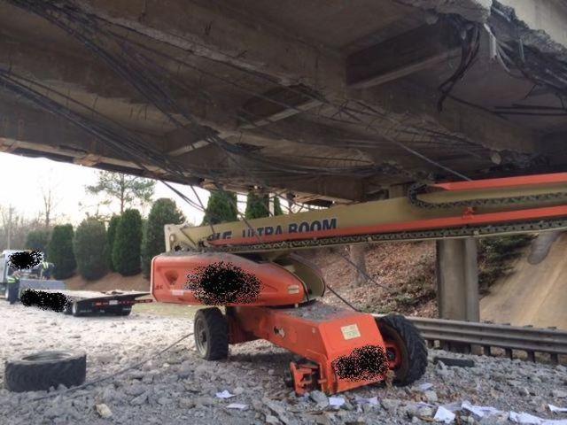 Trucker Creates A Monumental Mess