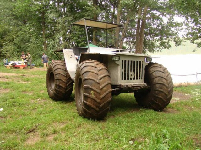An Offroad Car That Is Entirely DIY