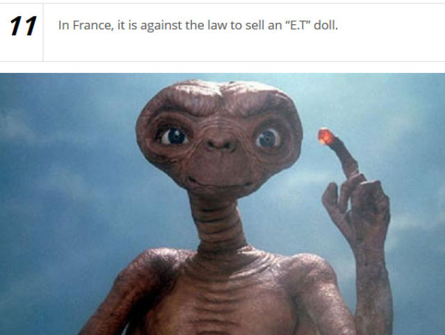 Bizarre Real-Life Laws from around the World