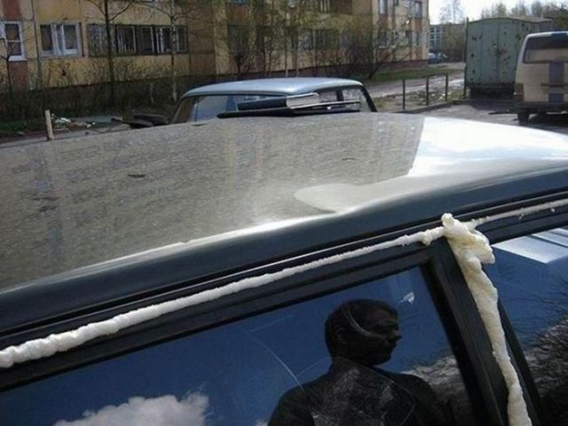 Extreme Examples of Car Vandalism