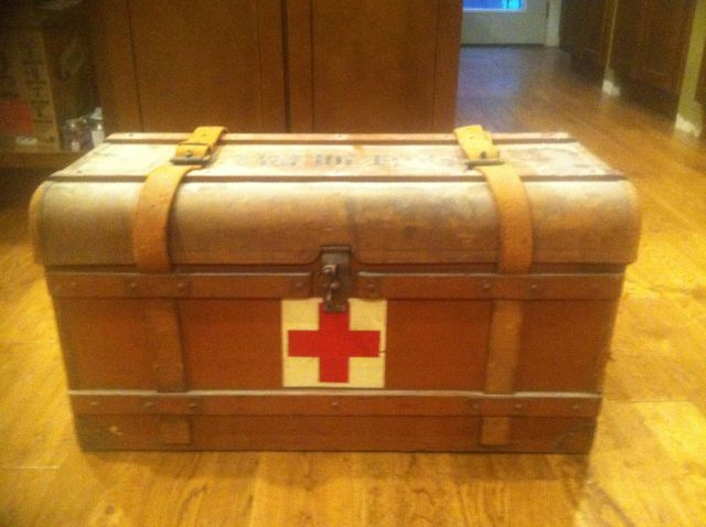 Inside an Antique Medical Chest Found in An Attic