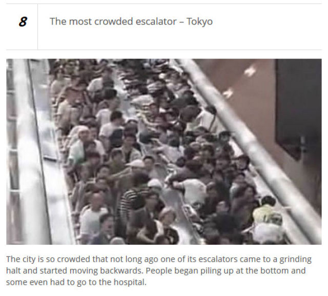 Places That Are Too Crowded for Words