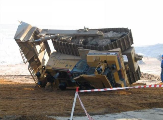 Taking No Notice of the Bulldozer Whatsoever…