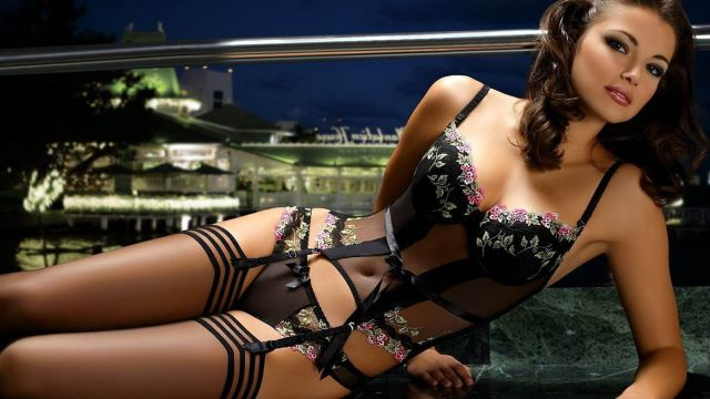 We Can't Get Enough of Ladies in Lingerie