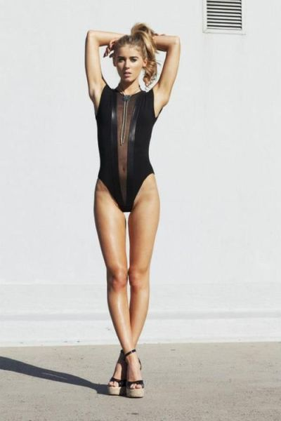 Girls Look Gorgeous in the Gloria V Body Suit