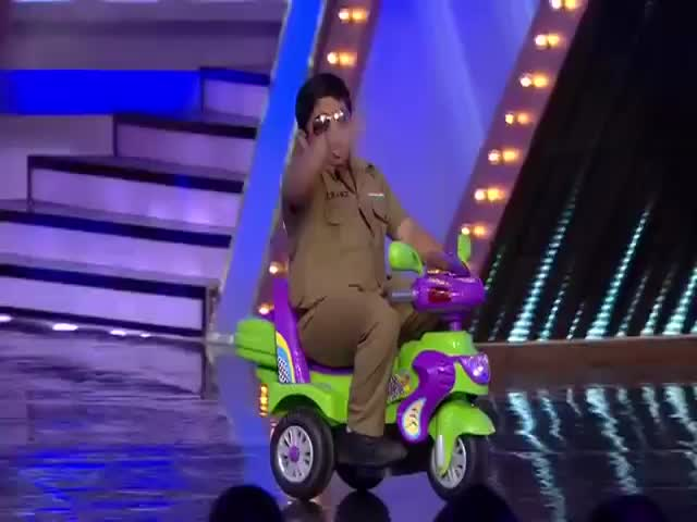 Chubby Dancing Kid Nails It on India's Got Talent