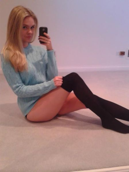 from Bodhi sexy naked chicks wearing socks