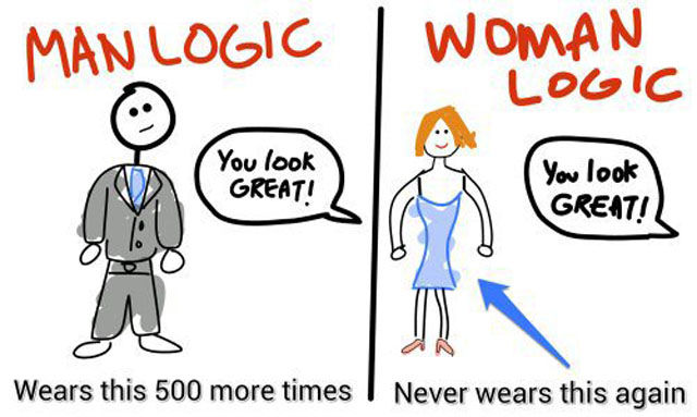 There Are No Rules to Female Logic