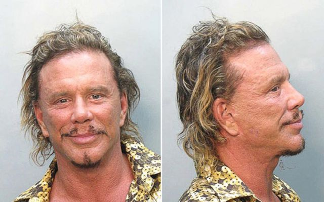 Mugshots of Famous People