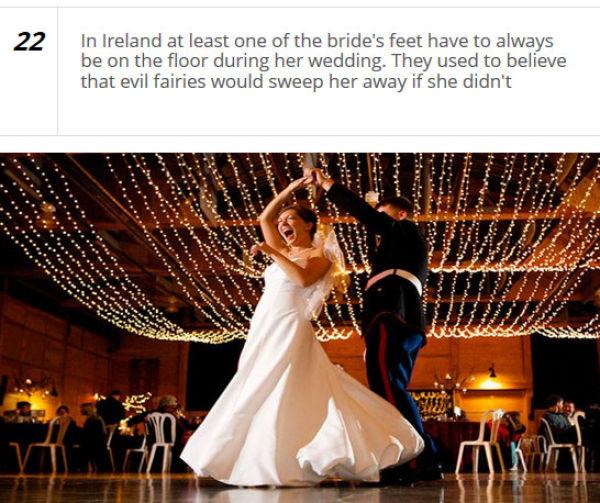 Unusual Wedding Customs from around the World
