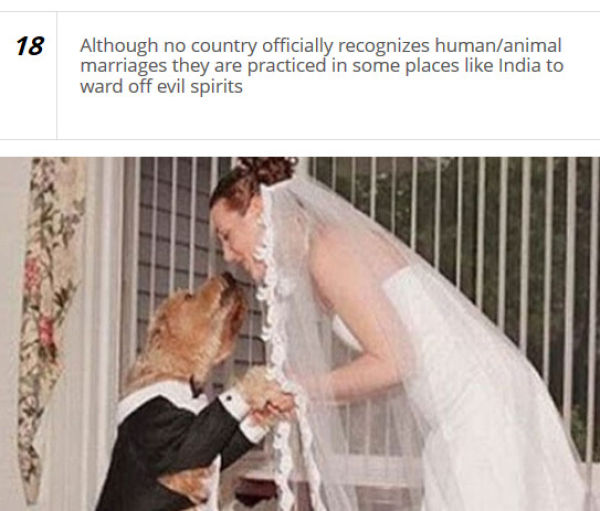 Unusual Wedding Customs from around the World