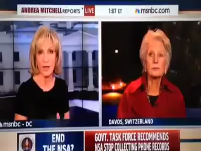 Congresswoman Gets Interrupted for Very Important Breaking News