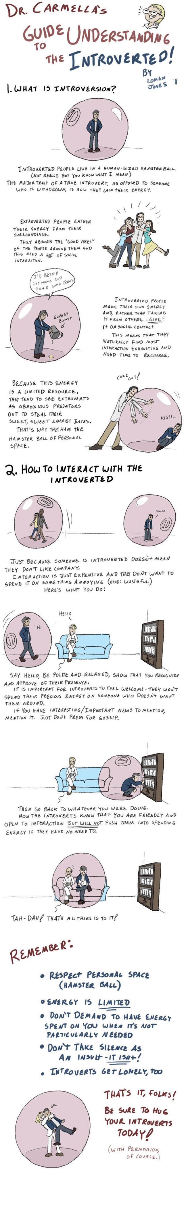 Cartoons That All Introverts Will Relate To