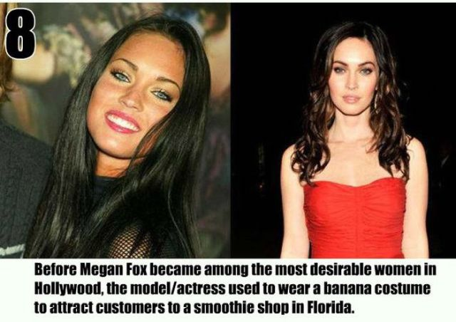 A Little Useless Info on Top Celebs