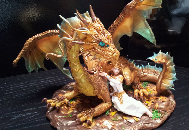 Cake topper i made for DND gamer