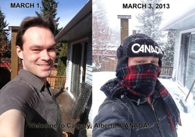Only in Canada…