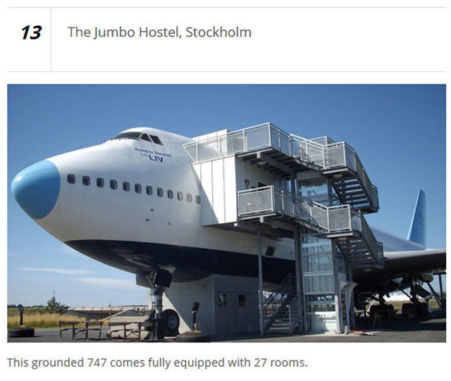 Some of the Most Outrageous One-of-a-kind Hotels Worldwide