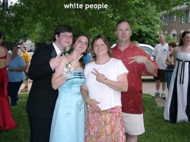 Quirky White People That Are Totally Awkward