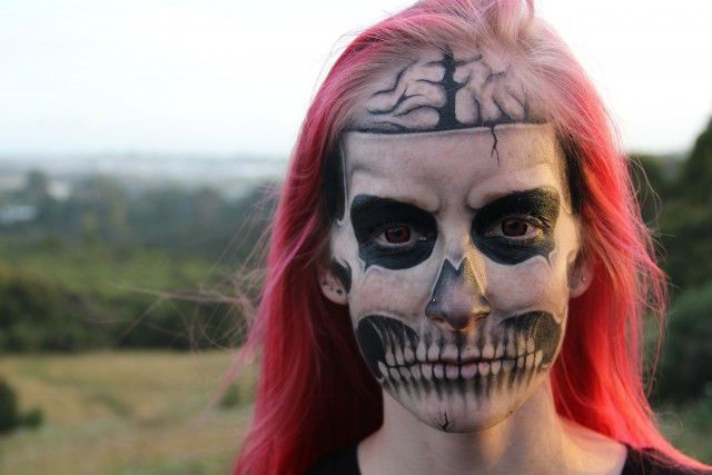 Scarily Cool Makeup Transformation