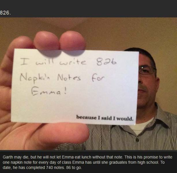 The Touching Story of One Man's Gift of 826 Notes