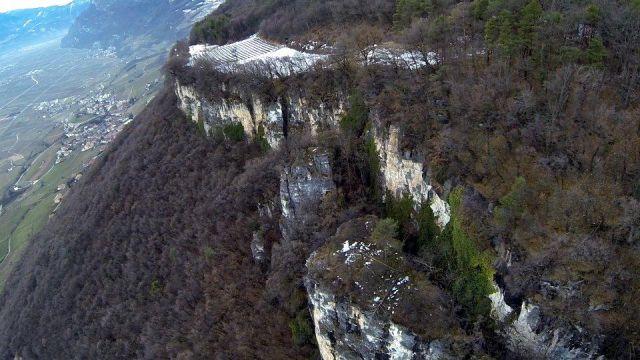 Massive Rock Falls onto a Small Farm in Italy