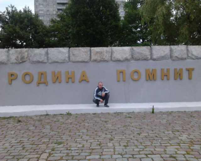 Russians Don't Need Chairs, They Simply Squat
