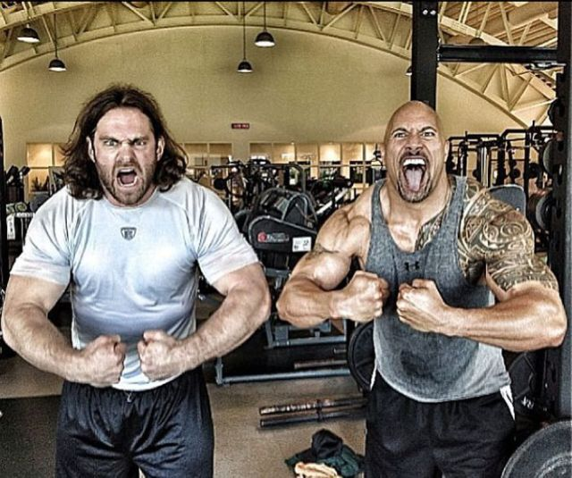 The Rock's Instagram Totally Rocks