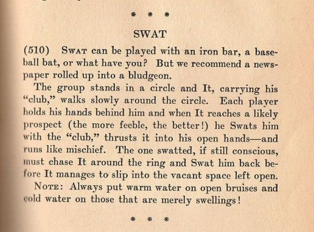 Bizarre Party Games from the 1940s