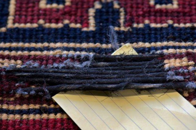 Carpets Hide a Secret Stash of Heroin