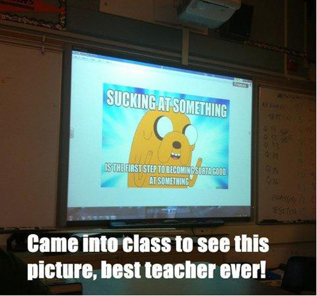 Cool Teachers Who Are On the Next Level of Awesome