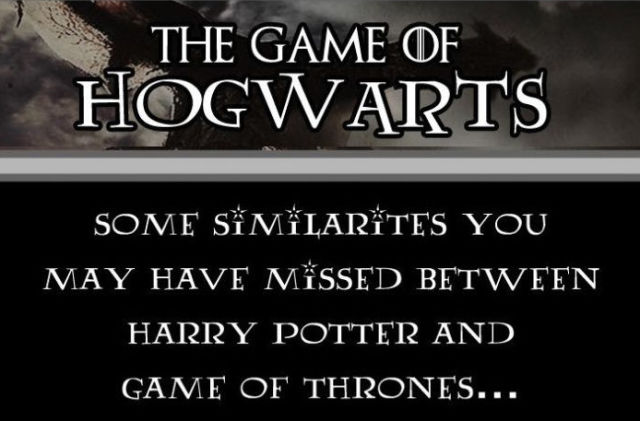 """How """"Harry Potter"""" and """"Game of Thrones"""" Are Really Similar"""