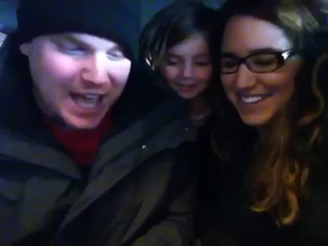 Little Girl's Reaction over Baby Brother Announcement  (VIDEO)
