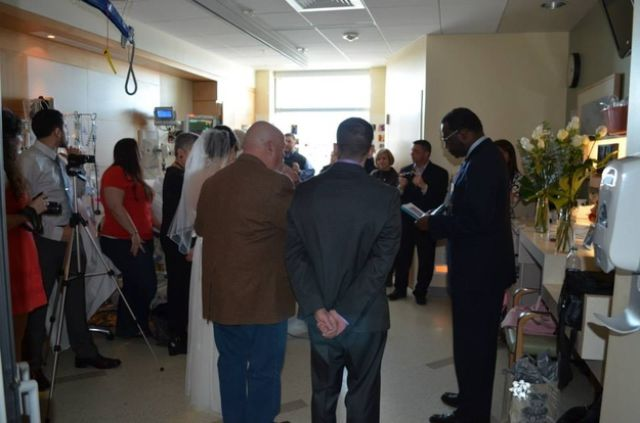 A Hospital Wedding Planned in 24 Hours