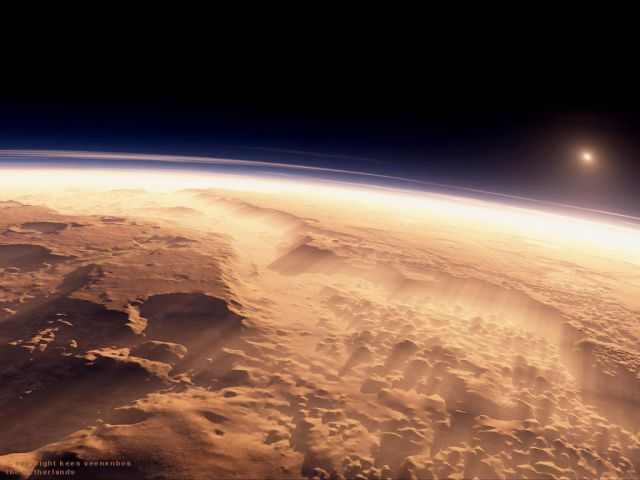 A Mars Sunrise Is Truly a Sight to Behold