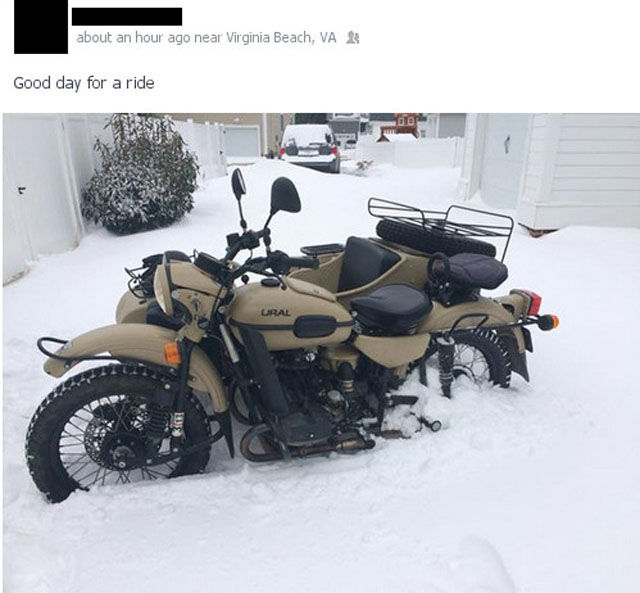 Hilarious Ural Riding Fail