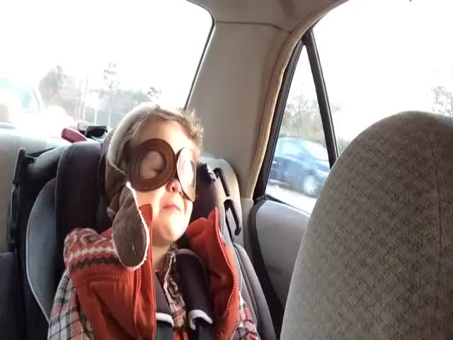 Little Boy Gets Very Emotional Listening to a Sad Song  (VIDEO)