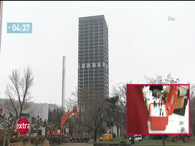 Spectacular University Tower Demolition in Germany