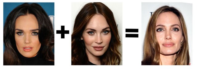 Funny Celebrity Face Mashups