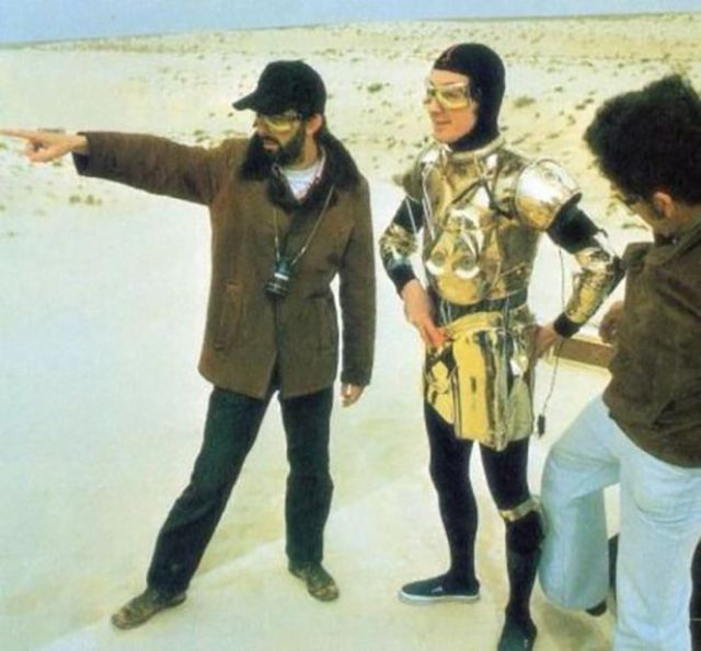On-Set Photos from Some Great Famous Films